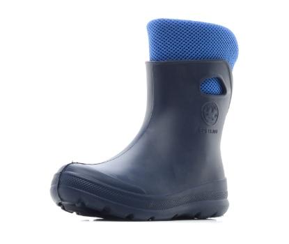 Женские утепленные ботильоны из ЭВА, темно-синие