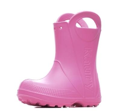 Детские сапожки из ЭВА, цвет розовый