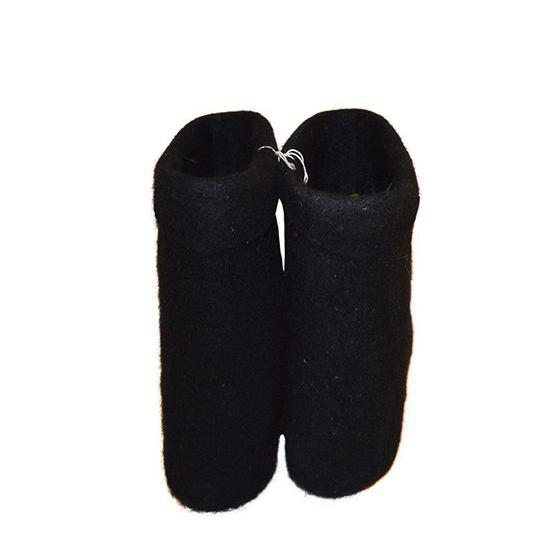 Мужские полуваленки, цвет черный