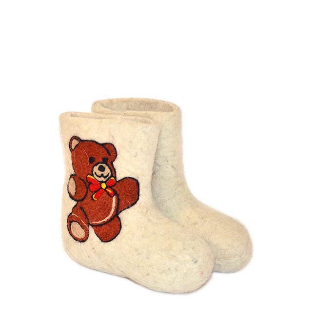 Детские валенки «Медвежонок»