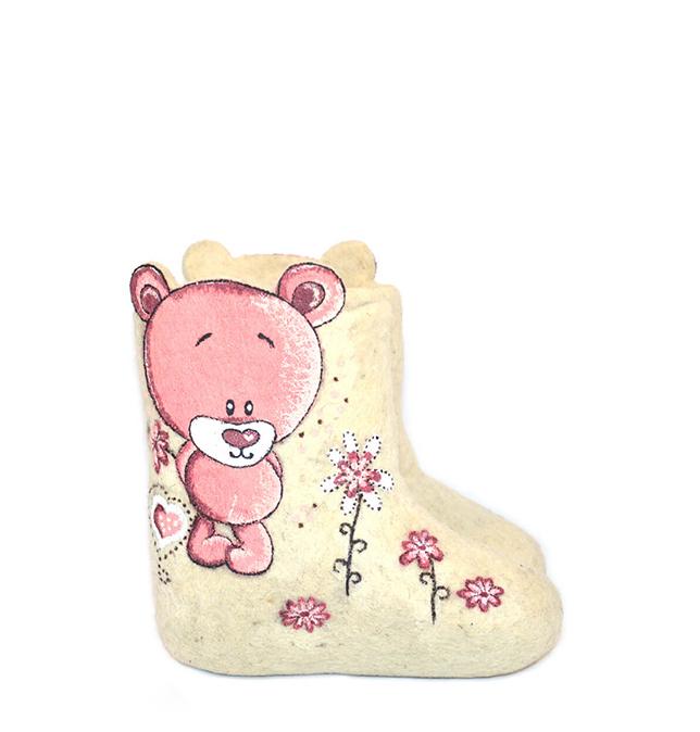 Детские валенки «Розовая мечта»