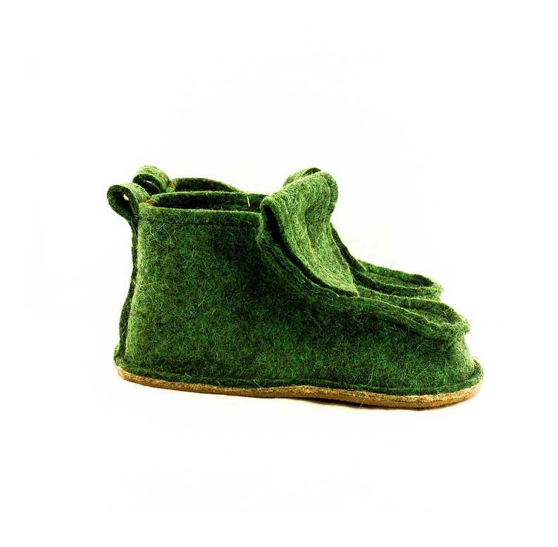 Женские домашние Валеши, цвет зеленый