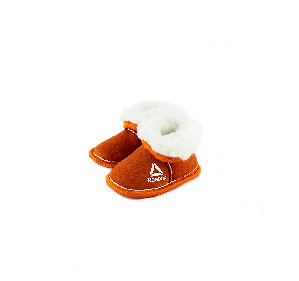 Детские чуньки «Бордушка», цвет оранжевый