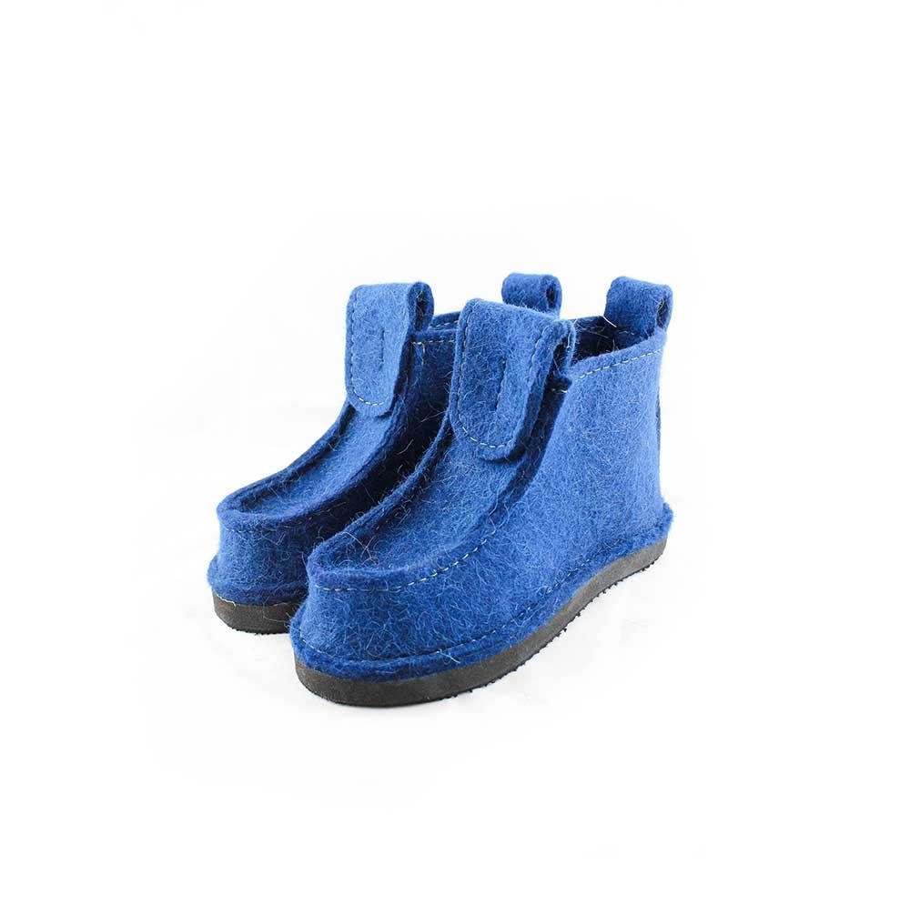 Женские короткие Валеши, цвет синий