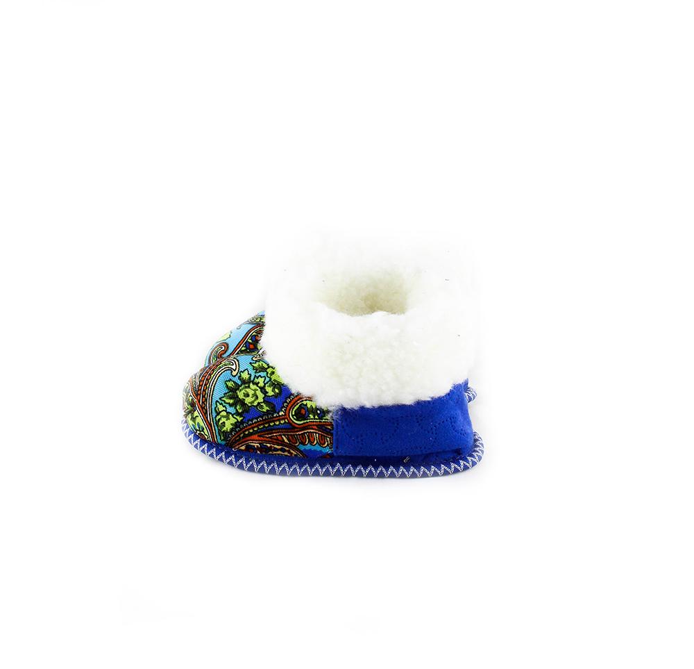 Детские чуньки «Вовка», цвет синий