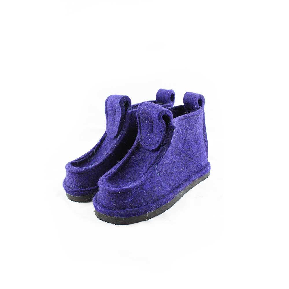 Женские короткие Валеши, цвет фиолетовый