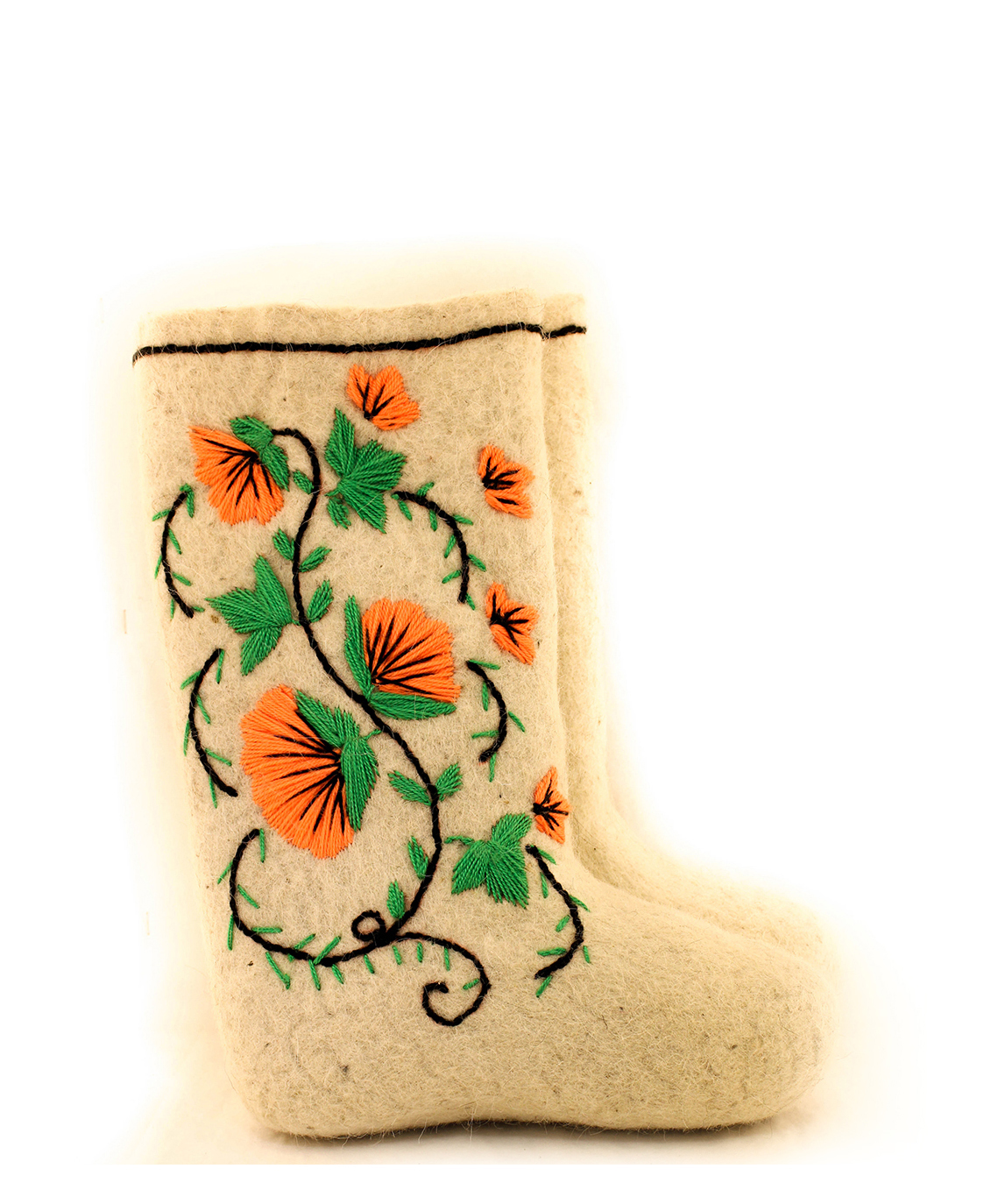 Женские валенки «Маргаритки»