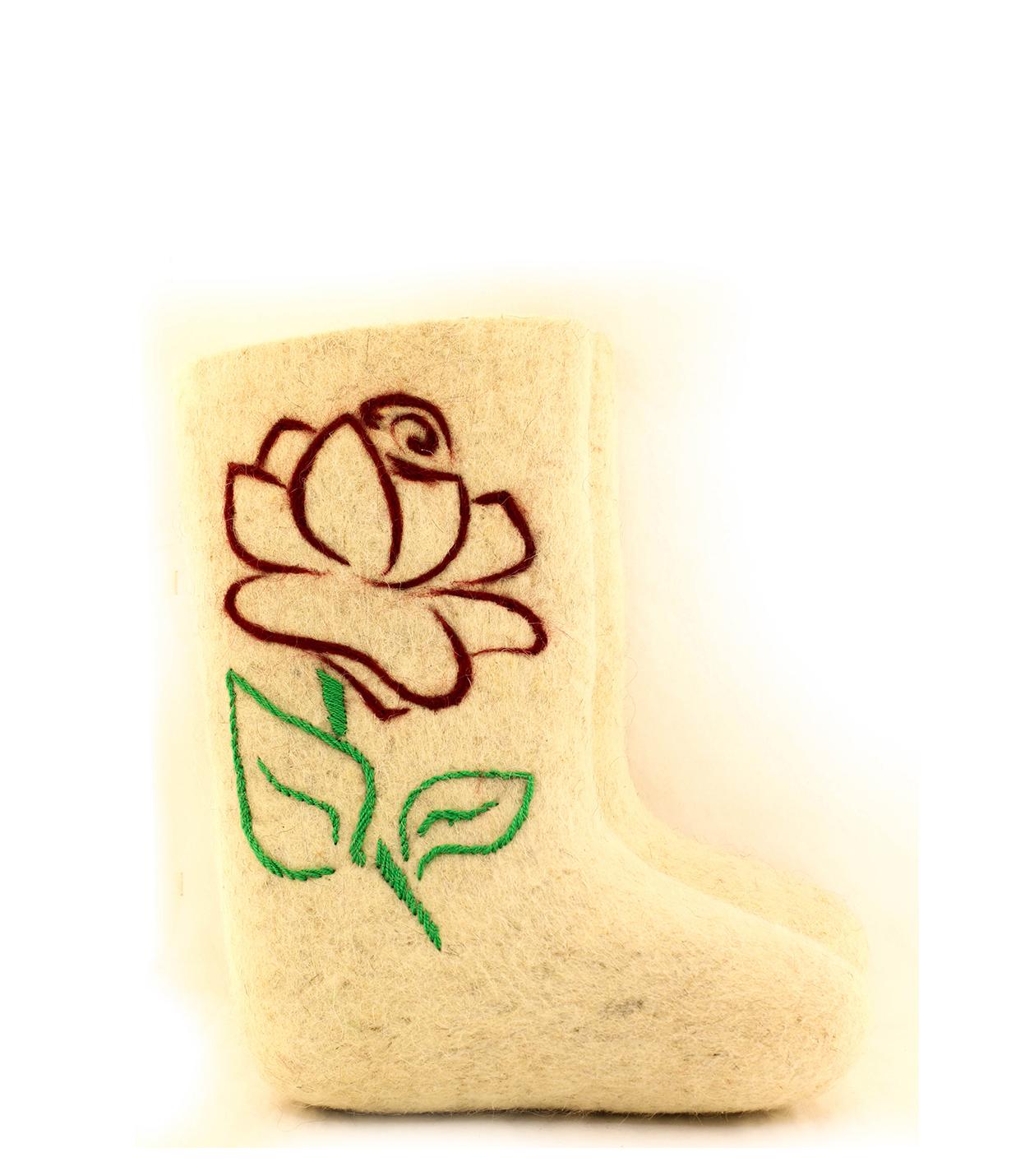 Женские валенки «Роза»