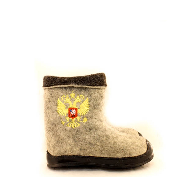 Мужские полуваленки «Герб России»