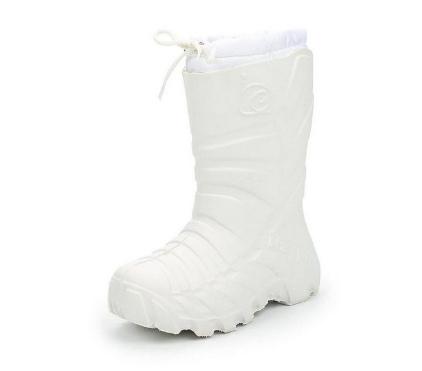 Детские сапожки из ЭВА, цвет белый