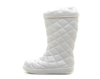 Женские сапоги из ЭВА, цвет белый