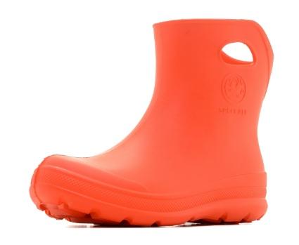 Женские ботильоны из ЭВА, цвет оранжевый