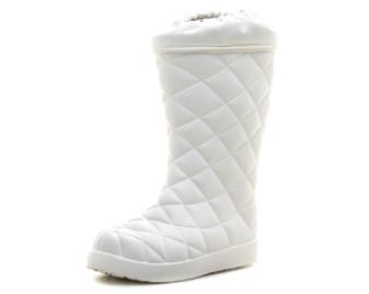 Женские сапоги из ЭВА Утепленные, цвет белый