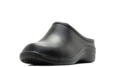 Женские сабо из ЭВА, цвет черный