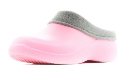 Женские сабо из ЭВА, цвет ярко-розовый