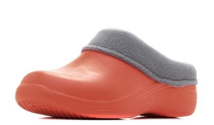 Женские сабо из ЭВА, цвет морковный