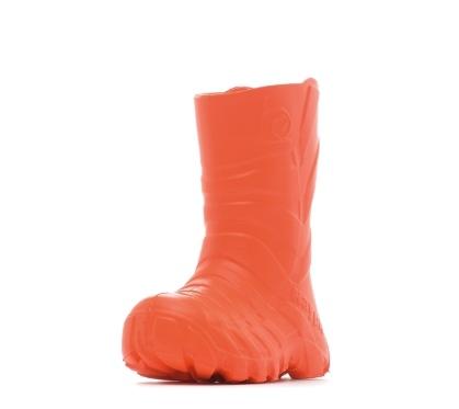Детские сапожки из ЭВА, цвет оранжевый