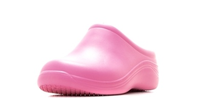 Женские сабо из ЭВА, цвет розовый