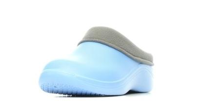 Женские сабо из ЭВА, цвет голубой