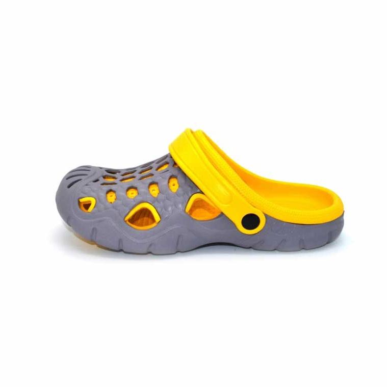 Мужские Сабо «Комби Спринт», цвет желтый
