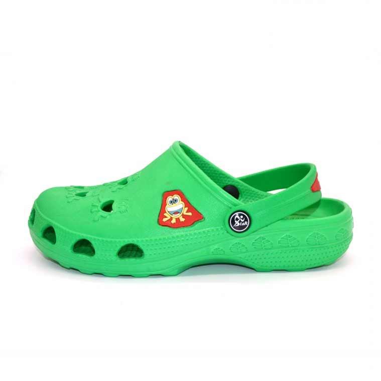 Детская Сабо Фрогги, цвет зеленый