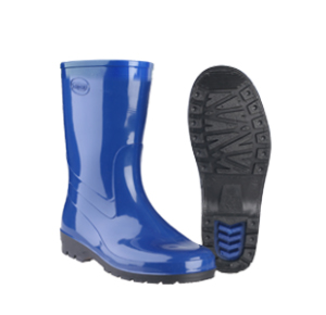 Женские сапоги «Вега», синие