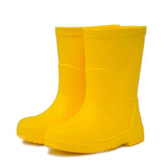 Детские сапоги из эва Nordman Jet, цвет желтый