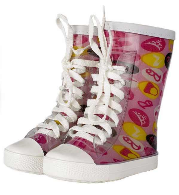 Детские утепленные однотонные сапоги-кеды на шнуровке с аппликацией, цвет ярко-розовый