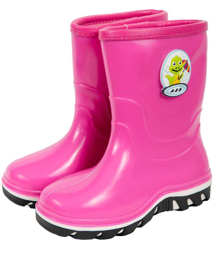 Подростковые сапожки  «Кораблик» с двухцветной подошвой, с объёмной наклейкой, утепленные, цвет розовый