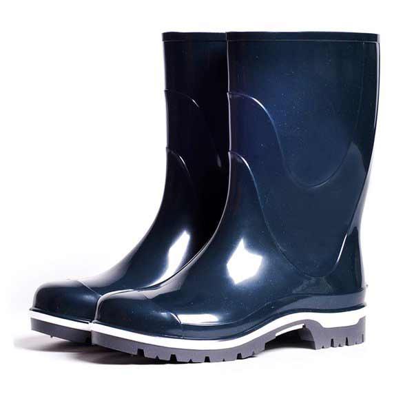Подростковые сапоги ПВХ Nordman Drop, цвет темно-синий