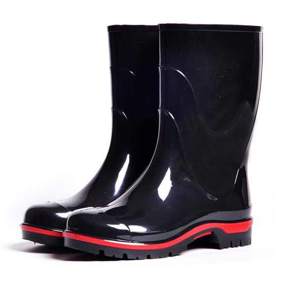 Подростковые сапоги ПВХ Nordman Drop, цвет черный