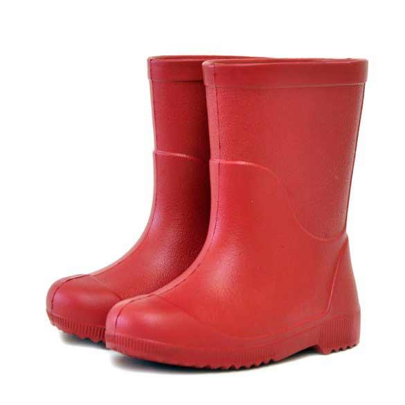 Детские сапоги из эва Nordman Jet, цвет красный