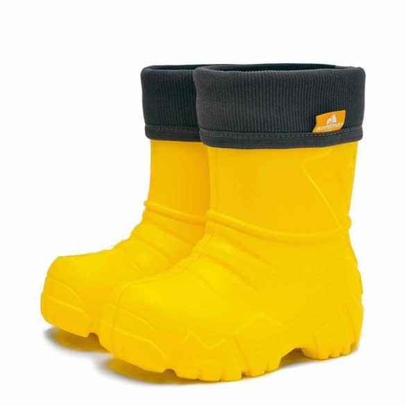 Сапоги детские Nordman Kids с вшитым флисовым утеплителем, цвет желтый