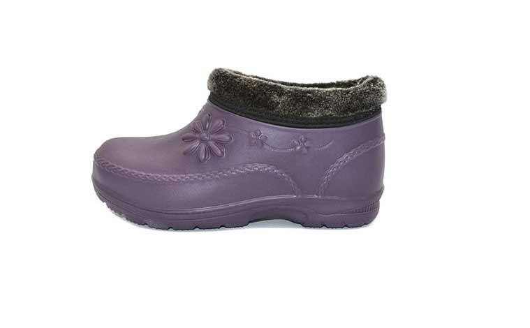 Женские утепленные галоши Eva shoes
