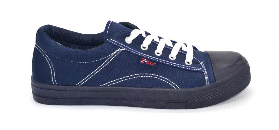 Мужские кеды на шнурках Eva shoes, цвет синий
