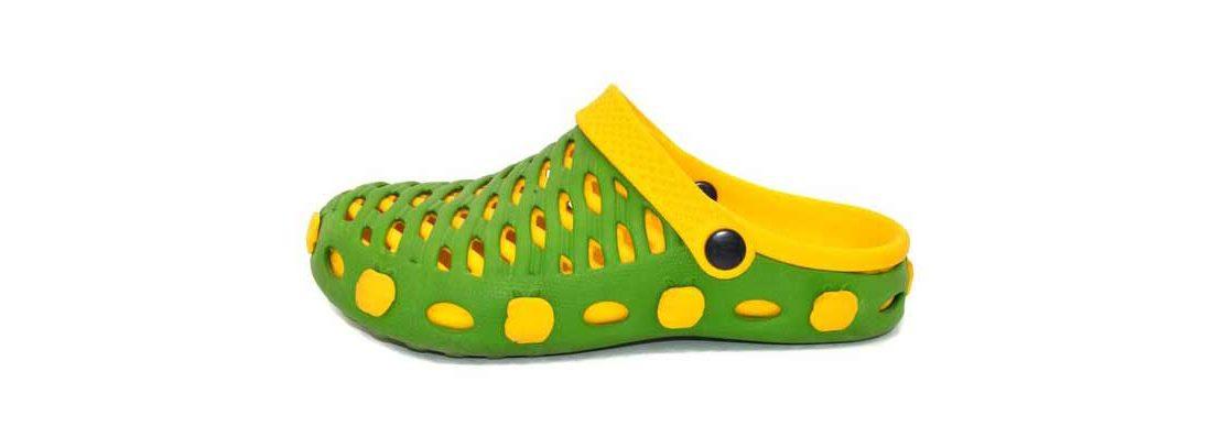 Женские сабо Комби Слим из ЭВА, цвет зеленый