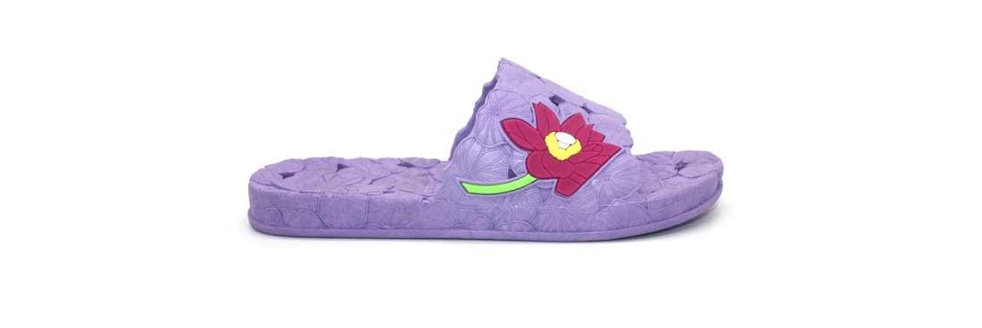 Женские сланцы Магнолия из воздушного ПВХ, цвет фиолетовый